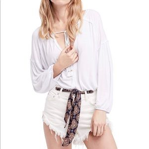 Free People We the Free Just a Henley Top NWT